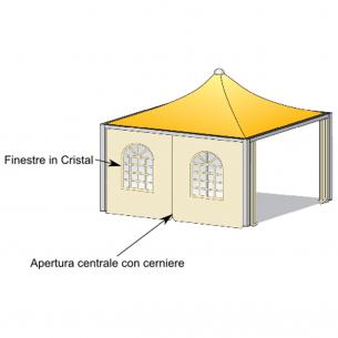 Laterale scorrevole Airone basic - Airone max pesante - Cicogna max