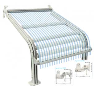 Tenda a guide con o senza barra quadra S/93 – S93 BQ