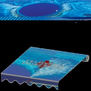 Cambio tende da sole in tessuto Tempotest serie blu