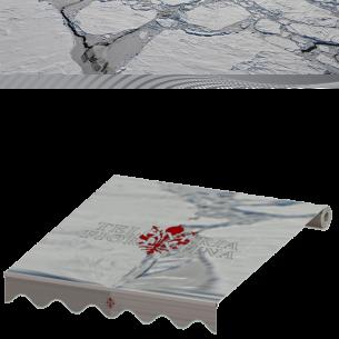 Cambio tende da sole in tessuto Tempotest serie Grigi