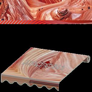 Cambio tende da sole in tessuto Tempotest serie Rossi
