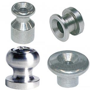 Funghetti in acciaio inox AISI 316