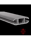 Binario alluminio anodizzato Ø 7,5