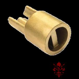 Perno inferiore ottone Ø 35 barra tenditrice