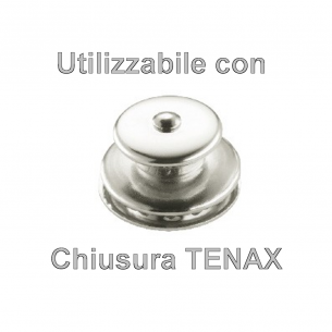 Chiusura Tenax parte inferiore tessuto - 10pz