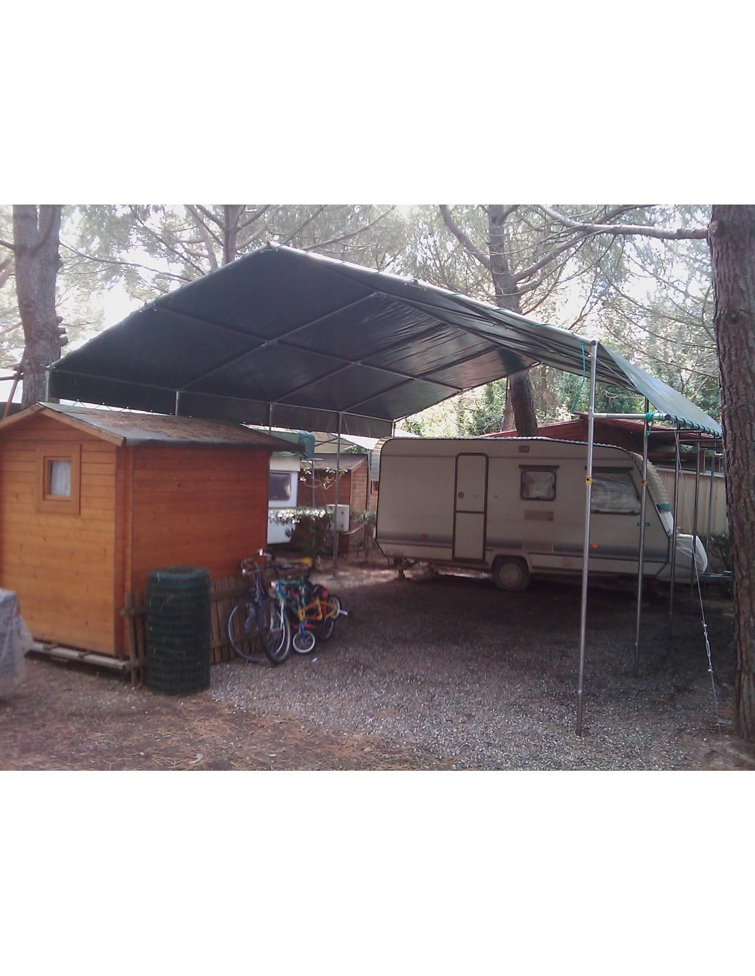 Telo pvc copertura campeggio 600gr standard 2x2 3x3 for Teli per laghetti pvc